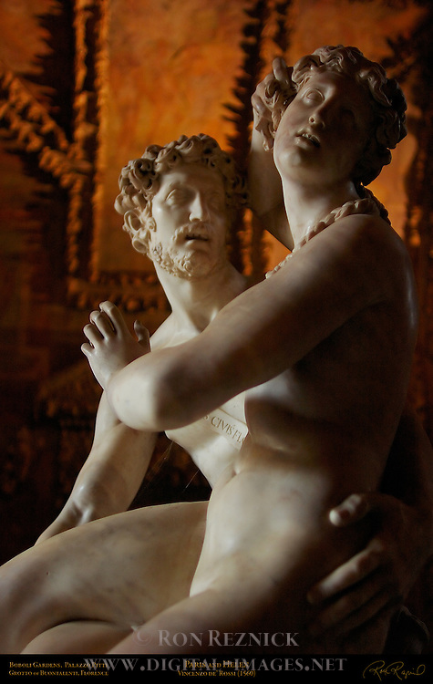 Paris and Helen, de'Rossi, Outer Grotto, Grotto of Buontalenti Palazzo Pitti Florence