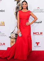 PASADENA, CA, USA - OCTOBER 10: Courtney Mazza arrives at the 2014 NCLR ALMA Awards held at the Pasadena Civic Auditorium on October 10, 2014 in Pasadena, California, United States. (Photo by Celebrity Monitor)