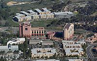 aerial photograph New York Life, Hyatt, La Jolla, San Diego, California