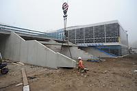 SCHAATSEN: HEERENVEEN: IJsstadion Thialf, 02-11-2015, Ver(nieuw)bouw, ©foto Martin de Jong