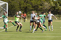 SAN ANTONIO, TX - OCTOBER 9, 2016: The University of Texas at San Antonio Roadrunners defeat the University of North Texas Mean Green 3-0 at the Park West Athletics Complex. (Photo by Jeff Huehn)
