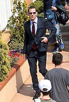 Prince Andrea Casiraghi at the Monte-Carlo Rolex Masters