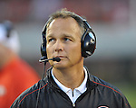 Georgia Coach Mark Richt at Sanford Stadium in Athens, Ga. on Saturday, November 3, 2012.