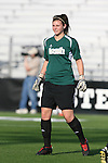 07 December 2007: Notre Dame's Nikki Weiss. The Florida State Seminoles defeated the University of Notre Dame Fighting Irish played 3-2 at the Aggie Soccer Stadium in College Station, Texas in a NCAA Division I Womens College Cup semifinal game.