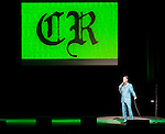 "Comedian Chris Rock performs during his ""No Apologies Tour"" at the Paramount Theater in Seattle on April 10, 2008. The master comic is performing 30 tour dates that span North America, Europe and South Africa. (UPI Photo/Jim Bryant)."