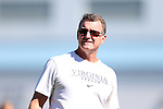 20 October 2013: Virginia head coach Steve Swanson. The University of North Carolina Tar Heels hosted the University of Virginia Cavaliers at Fetzer Field in Chapel Hill, NC in a 2013 NCAA Division I Women's Soccer match. Virginia won the game 2-0.