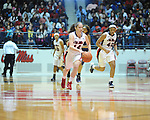 Ole MIss' Maggie McFerrin (14) vs. Northwestern State in women's college basketball action in Oxford, Miss. on Friday, November 16, 2012. Ole Miss won 67-51.
