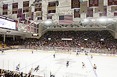 - The Boston College Eagles defeated the visiting Northeastern University Huskies 3-0 after a banner-raising ceremony for BC's 2012 national championship on Saturday, October 20, 2012, at Kelley Rink in Conte Forum in Chestnut Hill, Massachusetts.