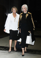 NEW YORK, NY-September 08: Lauren Hutton, Maye Musk at Daily Front Row Fashion Media Awards at Park Hyatt in New York. NY September 08, 2016. Credit:RW/MediaPunch