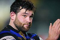 Nathan Catt of Bath Rugby looks on after the match. Aviva Premiership match, between Bath Rugby and Northampton Saints on February 10, 2017 at the Recreation Ground in Bath, England. Photo by: Patrick Khachfe / Onside Images