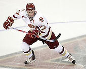 Brian Gibbons (BC - 17) - The Boston College Eagles defeated the visiting University of Maine Black Bears 4-1 on Sunday, November 21, 2010, at Conte Forum in Chestnut Hill, Massachusetts.