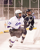 Tyler Young (Williams - 17), Samuel Johnson (Trinity - 5) - The Williams College Ephs defeated the Trinity College Bantams 4-2 (EN) on Tuesday, January 7, 2014, at Fenway Park in Boston, Massachusetts.