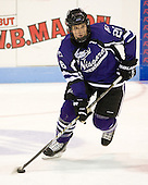 David Ross (Niagara - 26) - The visiting Niagara University Purple Eagles defeated the Northeastern University Huskies 4-1 on Friday, November 5, 2010, at Matthews Arena in Boston, Massachusetts.