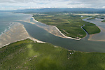 Aerial view of the Daintree River