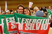 Roma, 29 Marzo 2015<br /> Convention di Forza Italia: Roma l'Italia e l'Europa che vogliamo. Militanti dell'Esercito di Silvio.<br /> Rome, March 29, 2015<br /> Convention  of Forza Italy: Rome the Italy and Europe that we want. Activists the Army Silvio.