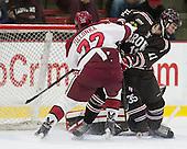 Phil Zielonka (Harvard - 72), Joey de Concilys (Brown - 11) - The visiting Brown University Bears defeated the Harvard University Crimson 2-0 on Saturday, February 22, 2014 at the Bright-Landry Hockey Center in Cambridge, Massachusetts.