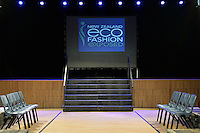 New Zealand Eco Fashion Exposed Buyers &amp; Media Showcase at Notre Dame Performing Arts Centre, Lower Hutt, New Zealand on Thursday 24 July 2014. <br /> Photo by Masanori Udagawa. <br /> www.photowellington.photoshelter.com.