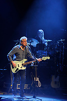 LONDON, ENGLAND - APRIL 13: Graham Gouldman and Paul Burgess of '10cc' performing at The London Palladium on April 13, 2017 in London, England.<br /> CAP/MAR<br /> &copy;MAR/Capital Pictures