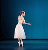 The Royal Danish Ballet soloists &amp; principals <br /> Bournoville Celebration <br /> at The Peacock Theatre, London, Great Britain <br /> press photocall<br /> 9th January 2015 <br /> <br /> La Sylphide <br /> <br /> <br /> Gudrun Bojesen as the Sylph <br /> <br /> <br /> <br /> <br /> <br /> Photograph by Elliott Franks <br /> Image licensed to Elliott Franks Photography Services