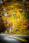An elderly couple takes a morning stroll at Pony Pasture in Richmond, Virginia