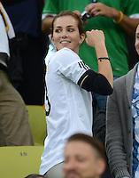 FUSSBALL  EUROPAMEISTERSCHAFT 2012   VIERTELFINALE Deutschland - Griechenland     22.06.2012 Lisa Mueller (Ehefrau von Thomas Mueller) zu Gast auf der VIP Tribuene