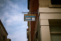 Sign advertising a loft for sale in the Soho neighborhood of New York on Saturday, April 28, 2012. (© Richard B. Levine)