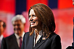 Michelle Bachmann..Eight republican candidates for US President face off at a debate held at the Ronald Reagan Library. The debate was sponsored by NBC News and POLITICO, and was moderated by Brian Williams, anchor of NBC Nightly News.