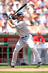 18 June 2006: Chien-Ming Wang, pitcher for the New York Yankees, at bat against the Washington Nationals at RFK Stadium, in Washington, DC. The Nationals defeated the Yankees 3-2 in the third game of the interleague series...Mandatory Photo Credit: Ed Wolfstein Photo...