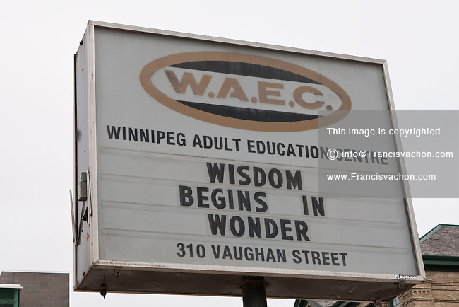 adult center education winnipeg