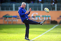 Bath Director of Rugby Todd Blackadder during the pre-match warm-up. Aviva Premiership match, between Bath Rugby and Harlequins on February 18, 2017 at the Recreation Ground in Bath, England. Photo by: Patrick Khachfe / Onside Images