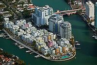 aerial photograph South Beach Miami Beach, Florida