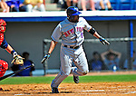 10 March 2009: New York Mets' catcher Robinson Cancel in action during a Spring Training game against the Washington Nationals at Space Coast Stadium in Viera, Florida. The Nationals and Mets tied 5-5 in the 10-inning Grapefruit League matchup. Mandatory Photo Credit: Ed Wolfstein Photo