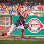 23 May 2015: Washington Nationals pitcher Casey Janssen on the mound during a game against the Philadelphia Phillies at Nationals Park in Washington, DC. The Phillies defeated the Nationals 8-1 in the second game of their 3-game weekend series. Mandatory Credit: Ed Wolfstein Photo *** RAW (NEF) Image File Available ***