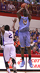 Andrew Wiggins jumps to shoot the ball at Scott County High School in Lexington, Ky., on Sunday, November 18, 2012. Photo by Tessa Lighty | Staff