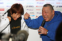 (L to R) Kyoko Hamaguchi, Animal Hamaguchi, December 23, 2011 - Wrestling : All Japan Wrestling Championship, Women's Free Style -72kg Final at 2nd Yoyogi Gymnasium, Tokyo, Japan. (Photo by Daiju Kitamura/AFLO SPORT) [1045]