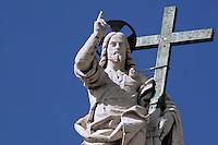 Statue of Jesus , Basilica Vatican. Pope Benedict XVI. 27/09/2006