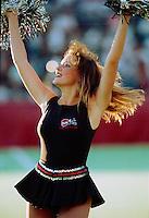 Cheerleader Ottawa Rough Riders 1991. Photo Scott Grant