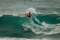 HONOLULU - (Tuesday, November 27, 2012) Matt Banting (AUS). -- The VANS World Cup of Surfing, a ASP Prime Event with$250,000 in prize-money  officially got  underway at Sunset Beach today, with waves in the 5-7 foot range. The second jewel of the $1M VANS Triple Crown of Surfing, the VANS World Cup will require four full days of competition between now and December 6...Winner of the first jewel - the REEF Hawaiian Pro - last week was Sebastian Zietz (HAW). Zietz is seeded through to the round of 64 and will surf on Day 3 of the competition...Surfing today are: Pancho Sullivan (HAW) Nathan Hedge (AUS); Ezekiel Lau (HAW); Ricardo Dos Santos (BRA); Ian Walsh (HAW); Ian Gentil (HAW); Garrett parkes (AUS);  and Mason Ho (HAW) all advanced today.  Photo: joliphotos.com