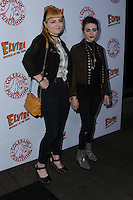 HOLLYWOOD, CA - OCTOBER 18: Frances Bean Cobain, Chantal Claret attends the launch party for Cassandra Peterson's new book 'Elvira, Mistress Of The Dark' at the Hollywood Roosevelt Hotel on October 18, 2016 in Hollywood, California. (Credit: Parisa Afsahi/MediaPunch).