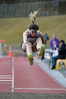 Jenni Scott  in action during the Athletics - NZ Track and Field Championships at Newtown Park, Newtown, New Zealand on Friday 6 March 2015. <br /> Photo by Masanori Udagawa. <br /> www.photowellington.photoshelter.com.