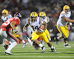 Ole Miss vs. LSU running back Terrence Magee (14) at Vaught-Hemingway Stadium in Oxford, Miss. on Saturday, November 19, 2011.