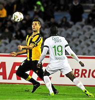 Peñarol de Uruguay V.S. Deportivo Cali de Colombia 16-09-2014