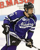 Paul Zanette (Niagara - 9) - The visiting Niagara University Purple Eagles defeated the Northeastern University Huskies 4-1 on Friday, November 5, 2010, at Matthews Arena in Boston, Massachusetts.