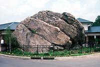 GLACIAL EROSION<br /> Glacial erosion in rock<br /> Glacial Erratic