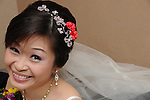 Taiwanese Wedding -- The radiant bride...