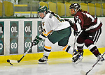 9 October 2009: University of Vermont defender Saleah Morrison, a Sophomore from Selkirk, Manitoba, in action against the Union Dutchwomen at Gutterson Fieldhouse in Burlington, Vermont. The Catamounts shut out the visiting Dutchwomen 2-0 to start off the Cats' 2009 season. Mandatory Credit: Ed Wolfstein Photo