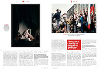 Latvian monthly magazine IR on 25 years of Latvian independence, 08.2016.<br /> Photographer: Martin Fej&eacute;r