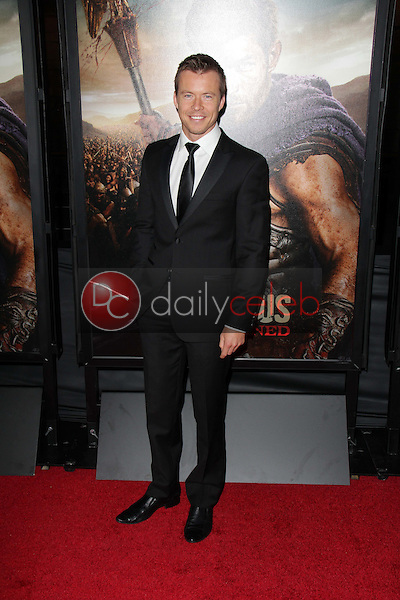 Todd Lasance<br /> at the &quot;Spartacus: War Of The Damned&quot; Los Angeles Premiere, Regal Cinemas, Los Angeles, CA 01-22-13<br /> David Edwards/DailyCeleb.com 818-249-4998