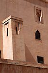 Africa, Morocco, Marrakech. Saadian Tombs Architecture.