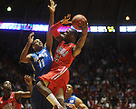 Mississippi's Murphy Holloway (31) vs. Memphis' Wesley Witherspoon in NIT second round basketball action at the C.M. &quot;Tad&quot; Smith Coliseum in Oxford, Miss. on Friday, March 19, 2010. Ole Miss won 90-81.